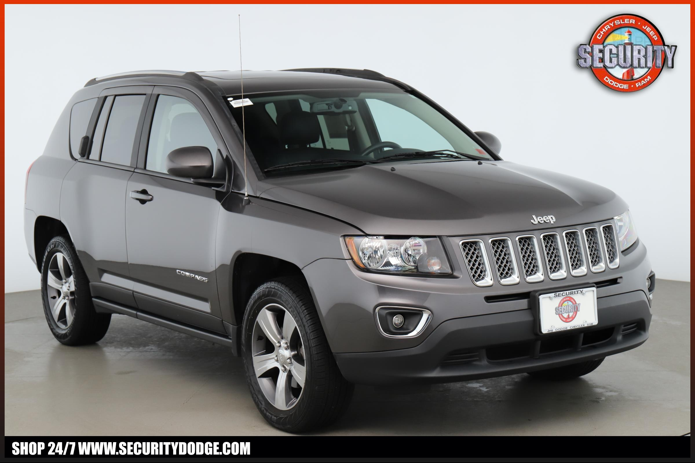 Certified Pre-Owned 2017 Jeep Compass High Altitude 4x4