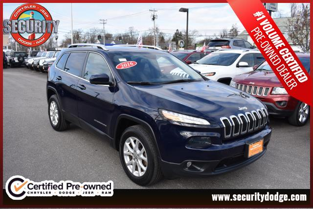 certified pre-owned 2016 jeep cherokee latitude latitude in