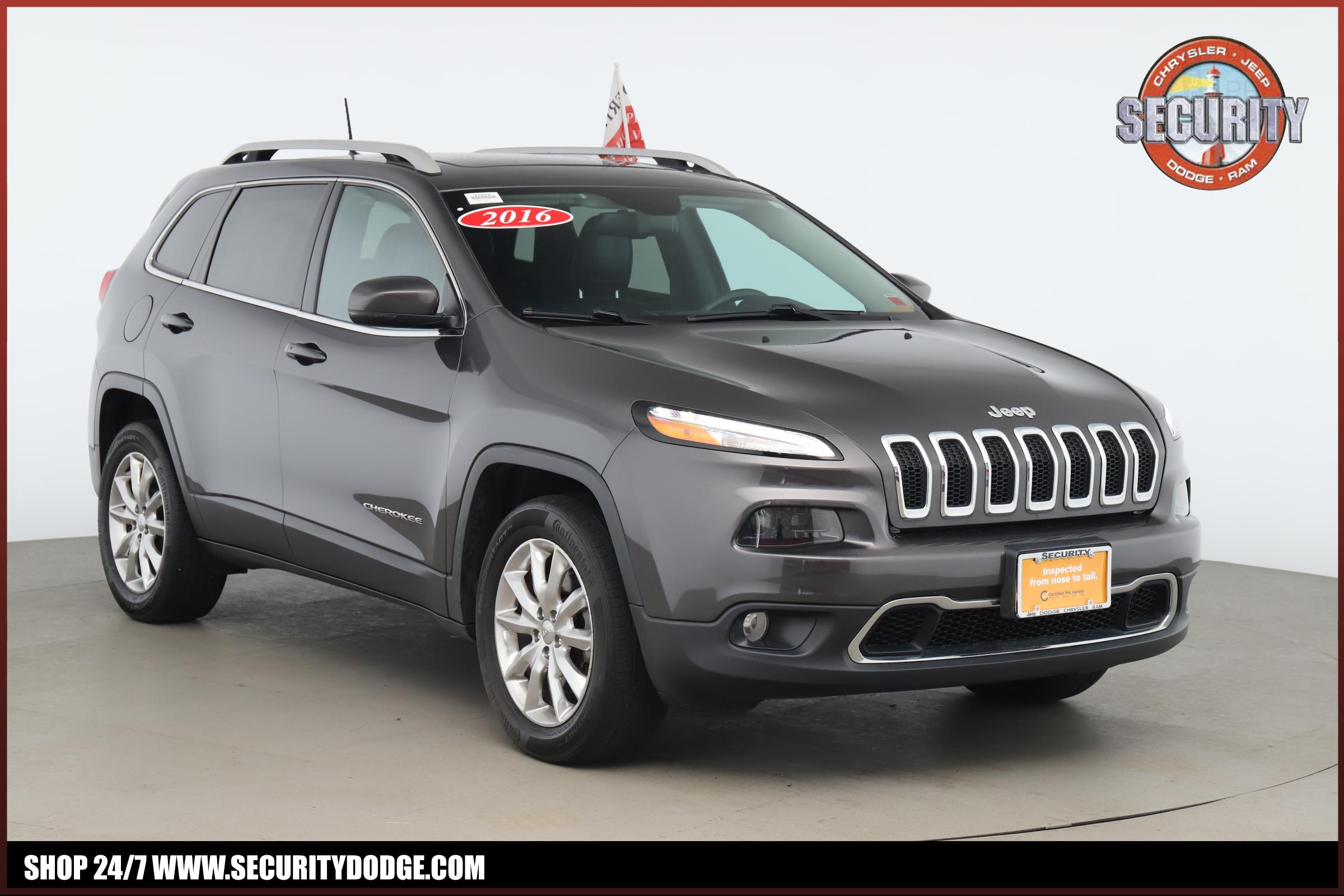Jeep Certified Pre-Owned >> Certified Pre Owned 2016 Jeep Cherokee In Amityville Ny Long Island