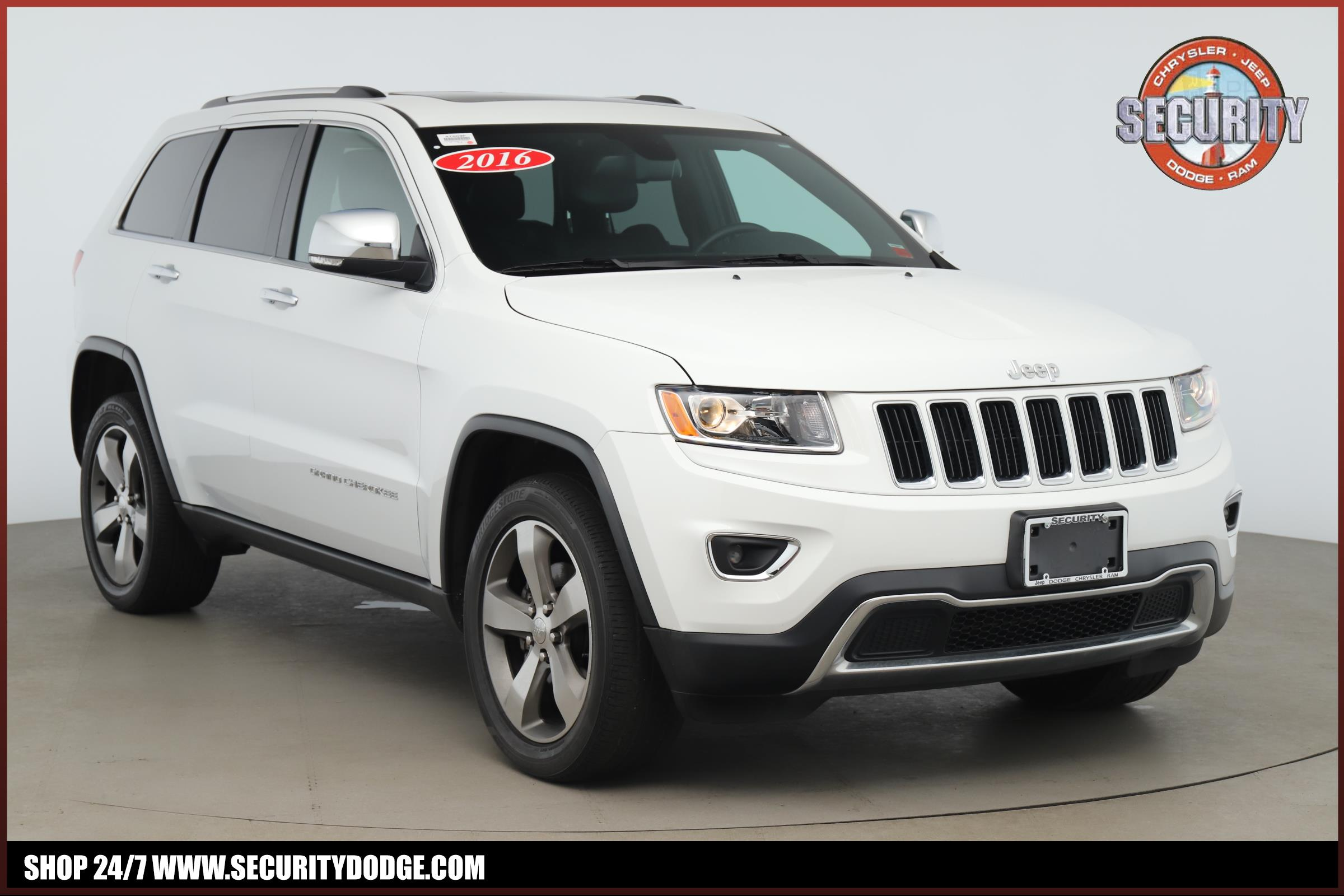 Jeep Certified Pre-Owned >> Certified Pre Owned 2016 Jeep Grand Cherokee In Amityville Ny Long