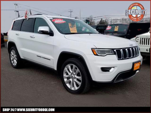 Jeep Certified Pre Owned >> Certified Pre Owned 2017 Jeep Grand Cherokee In Amityville Ny Long