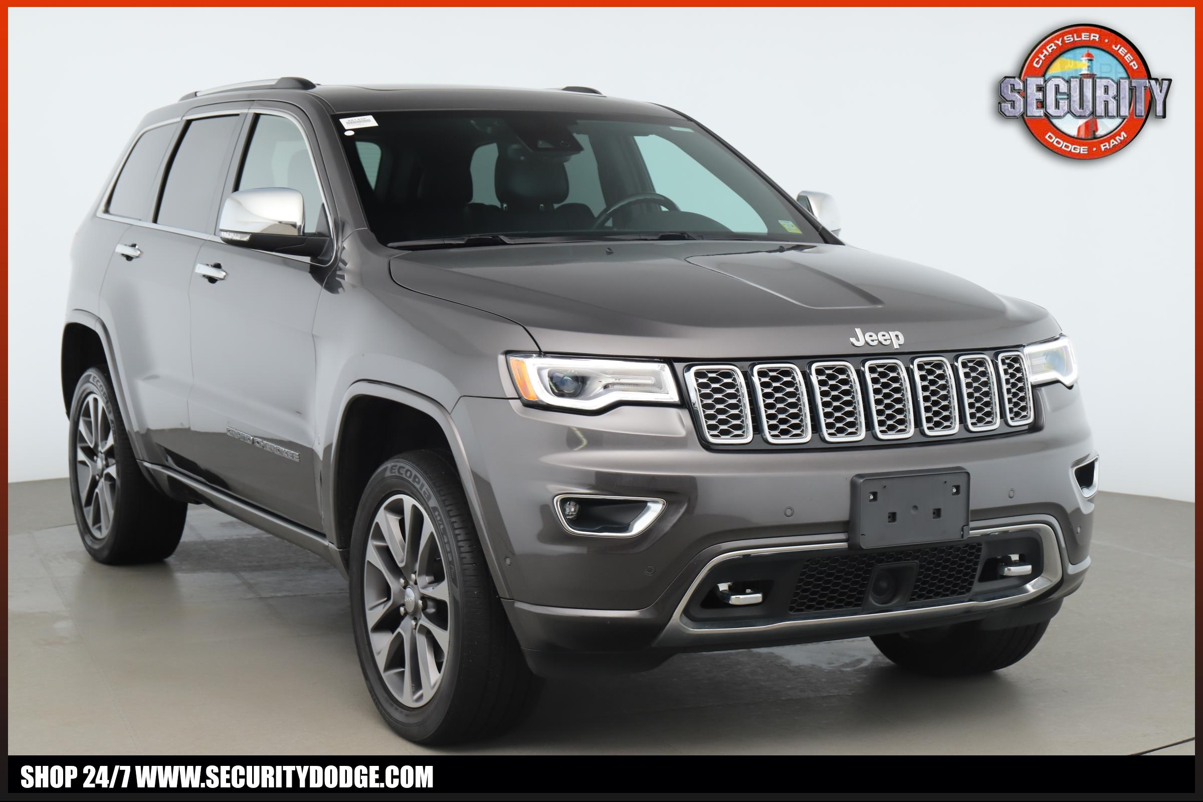 Jeep Grand Cherokee Overland >> Certified Pre Owned 2017 Jeep Grand Cherokee Overland 4x4 With Navigation