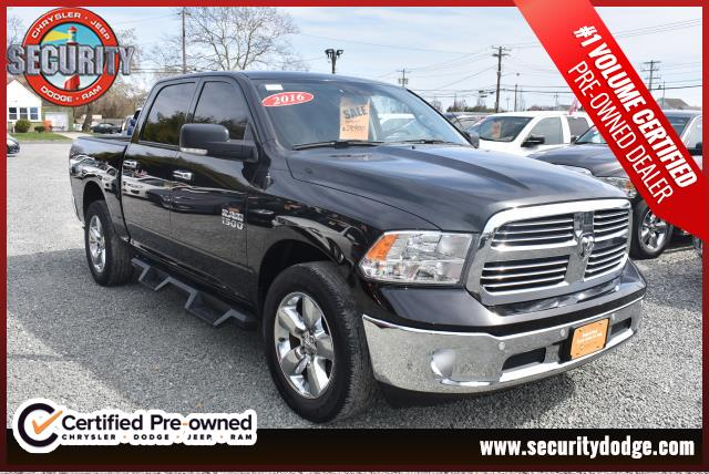 Pre Owned 2016 Ram 1500 4wd Crew Cab Horn