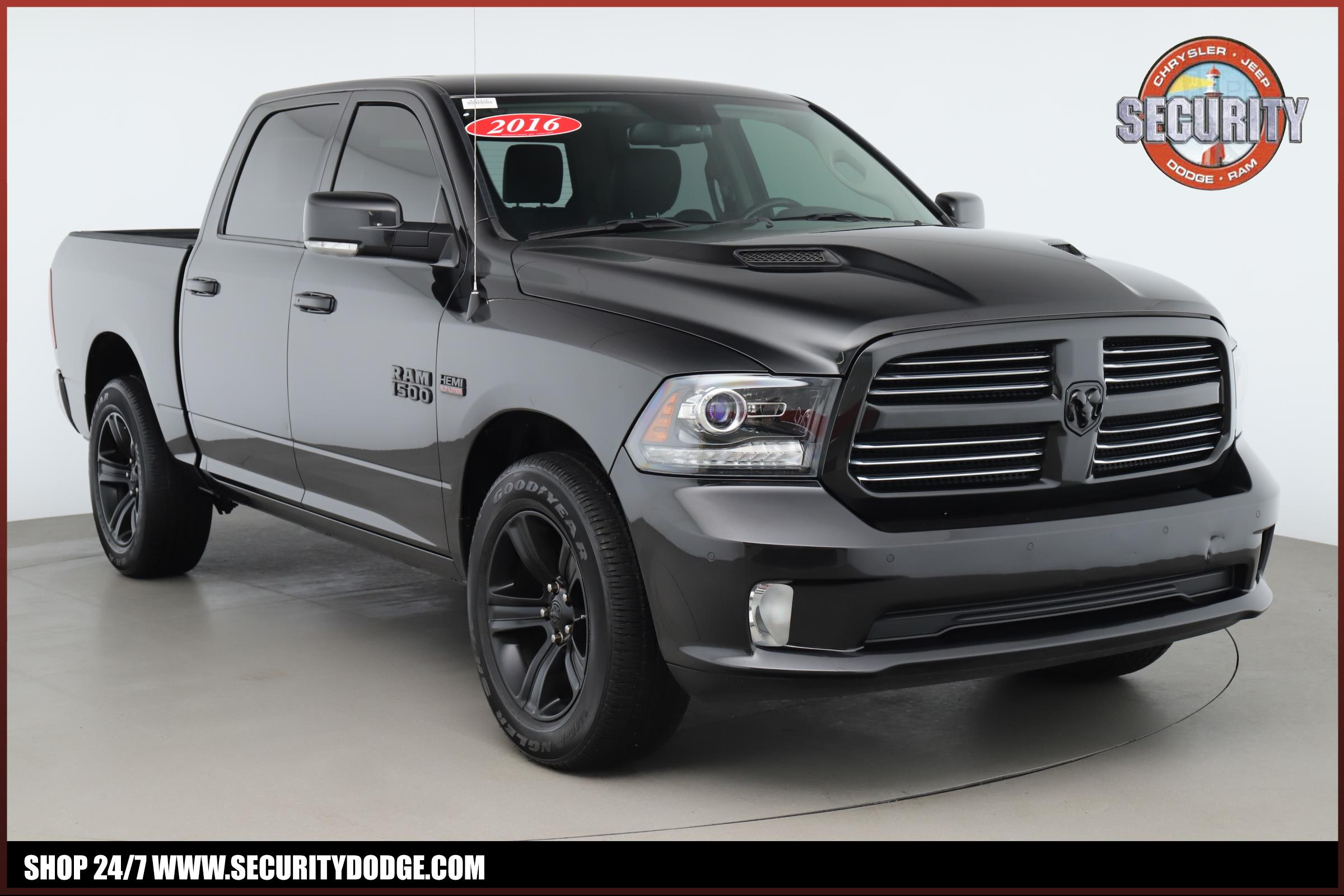 Certified Pre-Owned 2016 Ram 1500 Sport Crew Cab 4X4