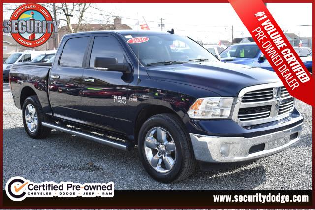 Certified Pre Owned 2016 Ram 1500 Horn Crew Cab 4wd