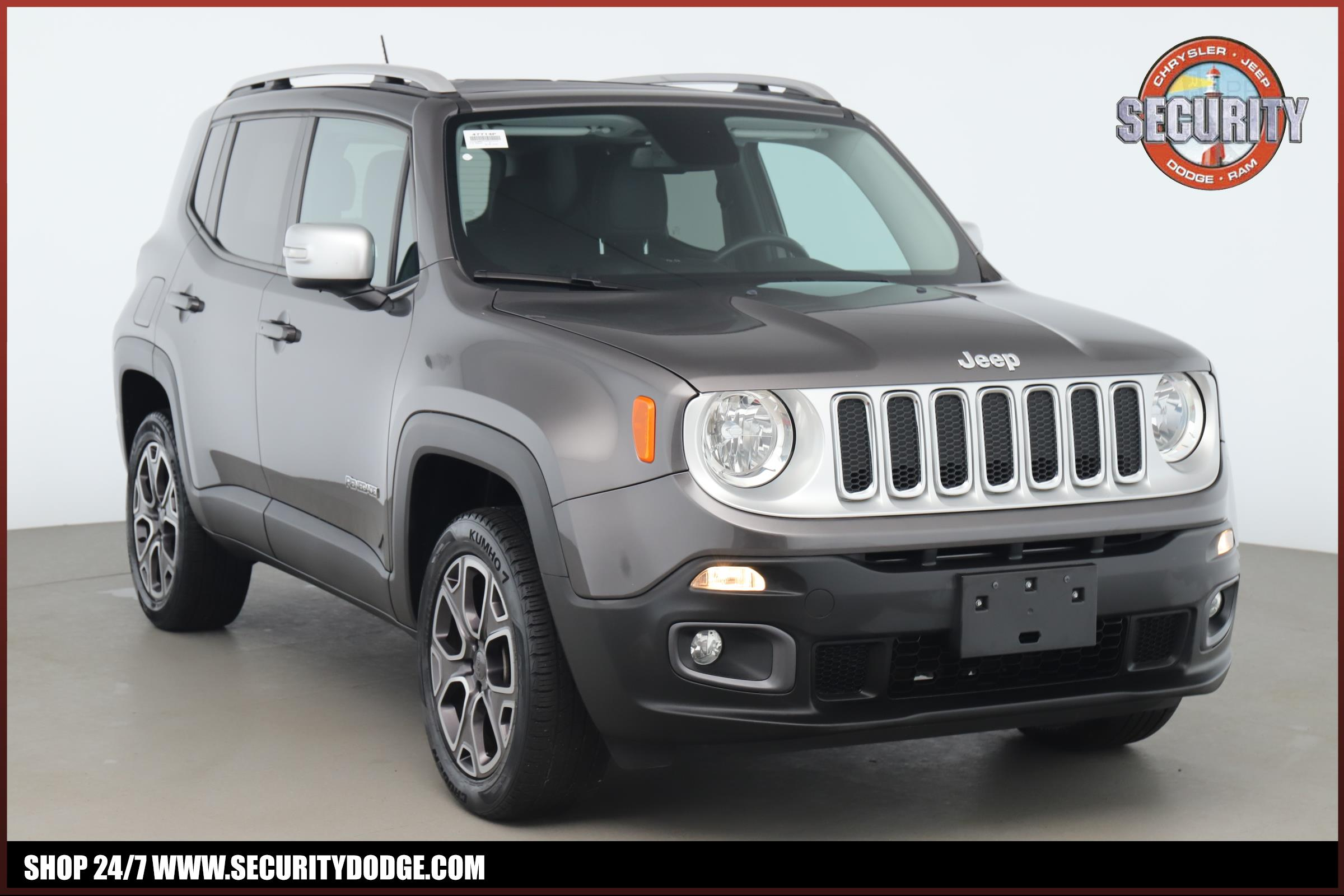 Jeep Renegade Limited >> Certified Pre Owned 2016 Jeep Renegade Limited 4x4 Four Wheel Drive Limited 4x4