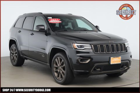 Certified Pre-Owned 2017 Jeep Grand Cherokee Limited 75th Anniversary Edition 4x4