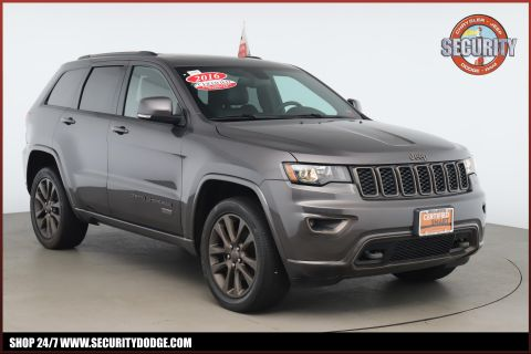 Certified Pre-Owned 2016 Jeep Grand Cherokee Limited 75th Anniversary Edition 4WD