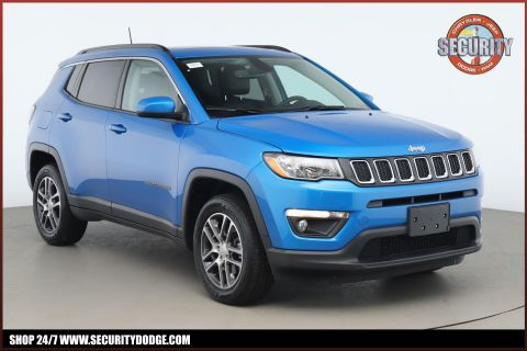 Certified Pre-Owned 2019 Jeep Compass Latitude 4x4