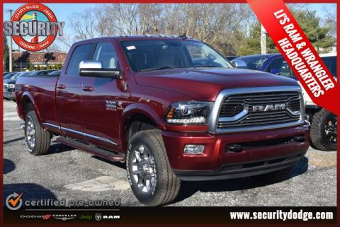New 2018 RAM 2500 Limited 4x4 Crew Cab 8' Box